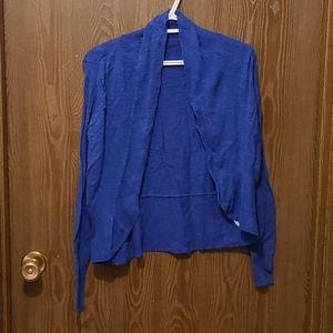 SALE - 💜3/$15 - Kismet - blue cardigan size small